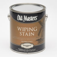 Old Masters  Semi-Transparent  Special Walnut  Oil-Based  Wiping Stain  1 gal. - Case Of: 2; - Case of: 2