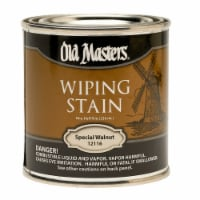 Old Masters Semi-Transparent Special Walnut Oil-Based Wiping Stain 0.5 pt. - Case Of: 6; - Case of: 6