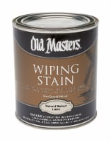 Old Masters  Semi-Transparent  Natural Walnut  Oil-Based  Wiping Stain  1 qt. - Case Of: 1; - Count of: 1