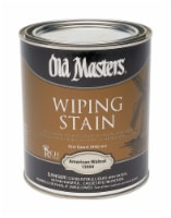 Old Masters Semi-Transparent American Walnut Oil-Based Wiping Stain 1 qt. - Case Of: 4; - Case of: 4