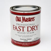 Old Masters  Professional  Semi-Transparent  American Walnut  Oil-Based  Alkyd  Fast Dry Wood - Case of: 4