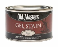 Old Masters Natural Gel Stain 1 pt. - Case Of: 4; - Case of: 4
