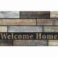 Apache Mills 60-730-5408-01800030 Masterpiece Mat, Welcome Home Slats - 1