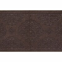 buyMATS 91-673-5407-01700030 17 x 30 in. Grand Impressions Medallions Mats, Brown - 1