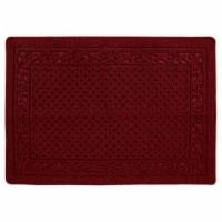 buyMATS 91-673-5403-03100045 31 x 45 in. Grand Impressions Scroll Trellis Mats, Red - 1