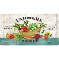 buyMATS 60-419-5433-02100039 21 x 39 in. Soft Stand Fresh Eats Mats, Multi-Color