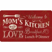 buyMATS 60-122-5490-01800030 18 x 30 in. Cushion Comfort Welcome To Moms Kitchen Mats, Multi-