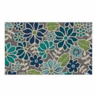 buyMATS 60-840-5405-01800030 18 x 30 in. Sculptures Washington Floral Mats, Multi-Color - 1