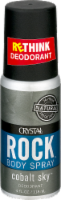 Crystal Rock Deodorant Spray
