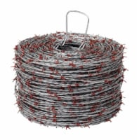 Red Brand 1320 ft. L 15.5 Ga. 4-point Galvanized Steel Barbed Wire - Case Of: 1; - Count of: 1