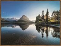 JLA Home Lake Landscape Framed Canvas - 25 x 19 in
