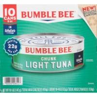 Bumble Bee Chunk Light Tuna in Water 10 Count