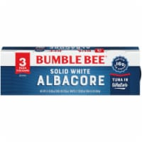 Bumble Bee Solid White Albacore Tuna in Water Cans 3 Count