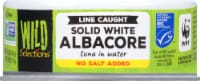 Wild Selections No Salt Added Solid White Albacore Tuna in Water