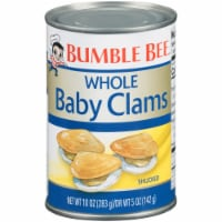 Bumble Bee Whole Shucked Baby Clams