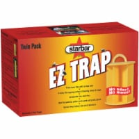 Starbar EZ Trap Disposable Outdoor Fly Trap (2-Pack) 3004323 - 1