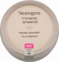 Neutrogena Mineral Sheers Classic Ivory Loose Powder Foundation - 1 ct