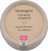 Neutrogena Mineral Sheers 60 Natural Beige Loose Powder Foundation - 1 ct