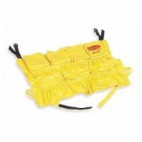 Rubbermaid Receptacle Caddy Bag,Ylw,Vinyl  FG264200YEL - 1