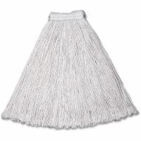 Rubbermaid String Wet Mop,16 oz., Cotton  FGV11600WH00 - 1