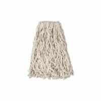 Rubbermaid String Wet Mop,18 oz.,Cotton,PK12  FGV11700WH00 - 1