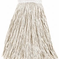 Rubbermaid Commercial Products String Wet Mop,20 oz.,Cotton,PK12  FGV15900WH00 - 1