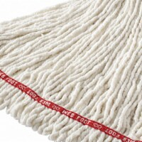 Rubbermaid String Wet Mop,26 oz.,Cotton HAWA FGA25306WH00