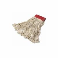 Rubbermaid String Wet Mop,18 oz.,Cotton,PK6  FGD15306WH00 - 1