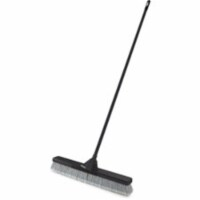 Rubbermaid Commercial Products Push Broom,3  L Trim,Gray Bristle - 1