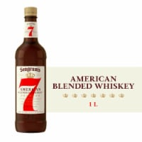 Seagram's 7 American Blended Whiskey - 1 L
