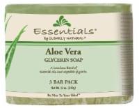 Clearly Natural Essentials Aloe Vera Glycerin Soap - 3 ct / 4 oz
