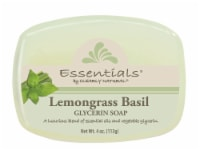Clearly Natural Essentials Lemongrass Basil Glycerin Soap