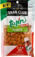 Snak Club Tajin Mild Chili & Lime Peanuts