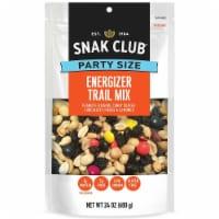 Century Snacks Snak Club Party Size Energizer Trail Mix, 24 Ounce -- 6 per case. - 6-1.5 POUND