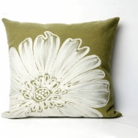 Liora Manne Visions II Indoor Outdoor Patio Accent Pillow, Green Sage, 12x20 In - 1 Piece
