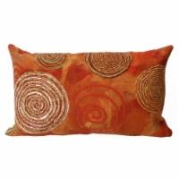 Liora Manne Visions III Indoor Outdoor Accent Pillow, Graffiti Swirl, 12 x 20 In - 1 Piece