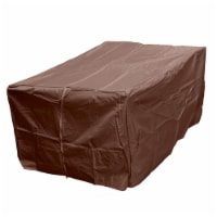 AZ Patio Heaters HVD-1010CVR-M Hiland Heavy Duty Waterproof Rectangle Propane Fire Pit Cover