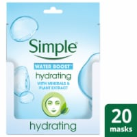 Simple Water Boost Minerals & Plant Extract Hydrating Sheet Mask