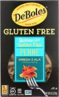 DeBoles  Penne Pasta Quinoa plus Golden Flax
