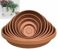 Bloem 12 In. Terracotta Poly Classic Flower Pot Saucer 20-51012C