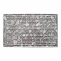 Stephan Roberts Home 30N-18RM50-06 18 x 30 in. Recycled Rubber Doormat - Enna - 1