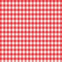 Magic Cover Red/White Checkered Vinyl Disposable Tablecloth 52 in. 52 in. - Case Of: 1; - Count of: 1