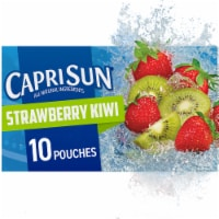 Capri Sun Strawberry Kiwi Flavored Juice Drink Blend Pouches