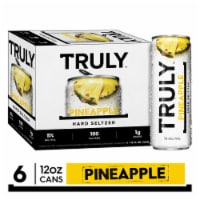 Truly Spiked & Sparkling Pineapple Hard Seltzer