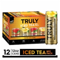 Truly Iced Tea Hard Seltzer Mix Pack - 12 cans / 12 fl oz