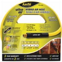 Amflo™ Ultra Air™ Rubber/PVC Hybrid Air Hose - 50 ft x 3/8 in