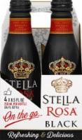 Stella Rosa Black Aluminum Singles Wine 4 Bottles