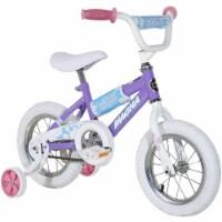 "Dynacraft Manga Children's 12"" Beginner Bike with Training Wheels, Willow Purple - 1 Unit"