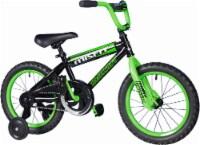 Dynacraft Children's Misfit Bicycle - Black/Green