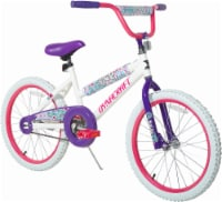 Dynacraft Children's Fire Fly Bicycle - White/Purple/Pink